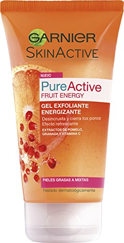 Garnier Skin Pure Fruit Gel Exfoliliante 150 ml