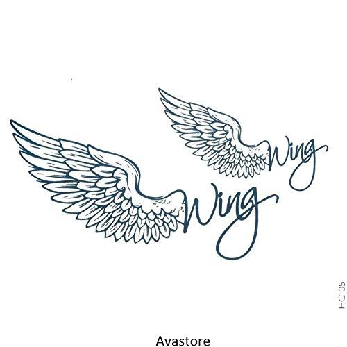 Tatuaggio Temporaneo WING - Tatuaggio Ali di angelo WING- AVASTORE