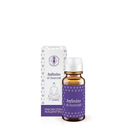 Erboristeria Magentina - Essenza Infinito 10ml - Oli Essenziali per Diffusori Ambientali