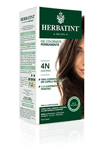 Herbatint Gel Colorante Permanente 4N Castano 150ml
