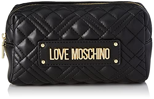 Love Moschino, Borsetta da Donna, Pre Collezione Autunno Inverno 2021, Nero, U
