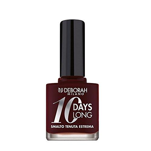 DEBORAH 10 Days Long 787 Mattone Smalto Per manicure E Pedicure - 500 g