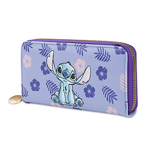 Disney Portafoglio Donna, Portafogli Di Stitch Con Cerniera, Portamonete E Porta Carte, Idee Regalo Donna