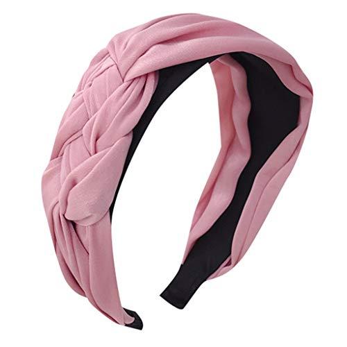 Aiserkly - Cerchietto per capelli da donna, con nodo, alla moda, leggero, alla moda Multicolor-a Taglia unica