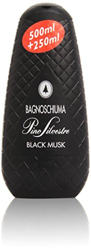Pino Silvestre - Bagnoschiuma, Black Musk , 750 ml