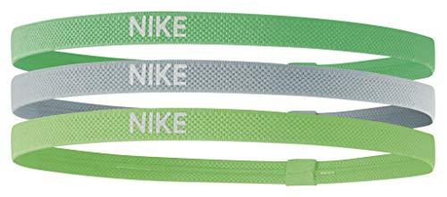 Nike Elastic Hairbands 3PK Fasce Elastiche per Capelli 3 Pezzi Tennis Running Sport