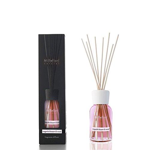 Millefiori Milano Natural Diffusore di Aromi per Ambiente, Fragranza, Magnolia Blossom & Wood, 100 ml