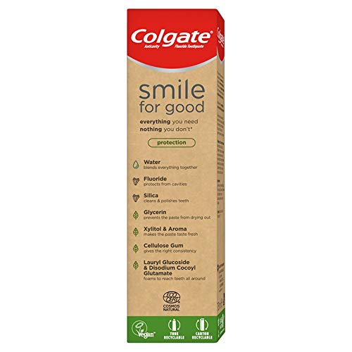 Colgate Dentifricio Vegan Smile for Good Protezione, 75 ml