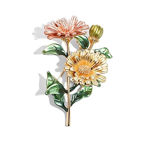 Corpetto di Perle Dipinto smaltato, Accessori per Spilla dell'artigianato, perni fortunati, Spille per Sciarpa di Seta, Regali per mogli, Madri, Insegnanti (Color : F)