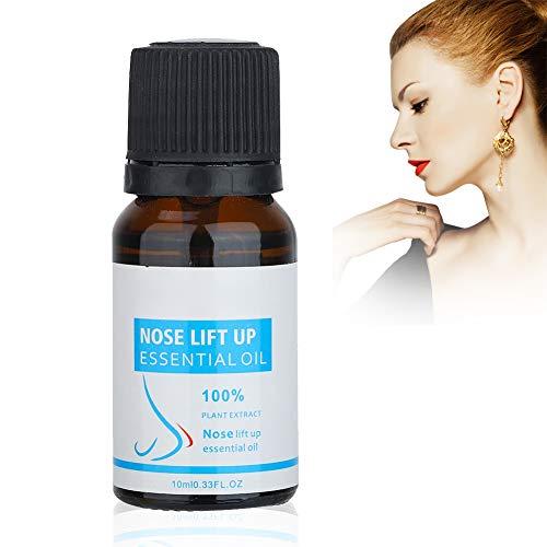 Naso Lifting Oil, Naso Lift Up Olio da massaggio essenziale idratante per modellare il naso alto dritto