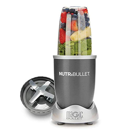 Nutribullet Pro 900 Watt - grigio - Frullatori da tavolo - smoothie - set a 5 pezzi - mangiare sano