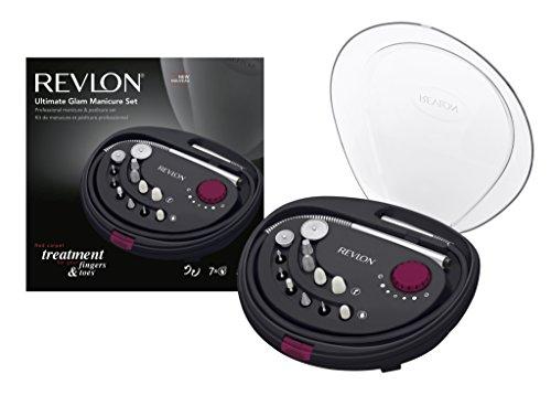 Revlon RVSP3526E Ultimate Glam Set Manicure Professionale con 12 Accessori