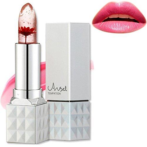 Jelly Rossetto, Richoose fiore di colore Temperatura Cambiare rossetto impermeabile duratura Moisturizing Lip Balm Angelo tentazione Lip Gloss per ragazze