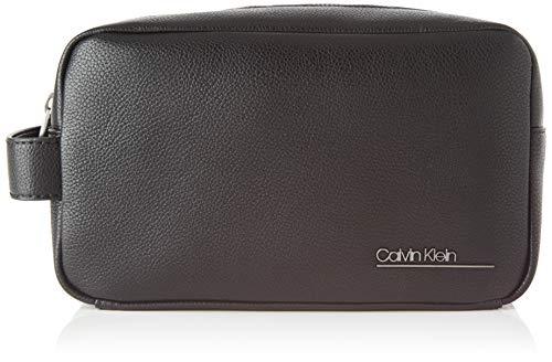 Calvin Klein Ck Bombe' Washbag - Organizer borsa Uomo, Nero (Blackwhite Black), 1x1x1 cm (W x H L)