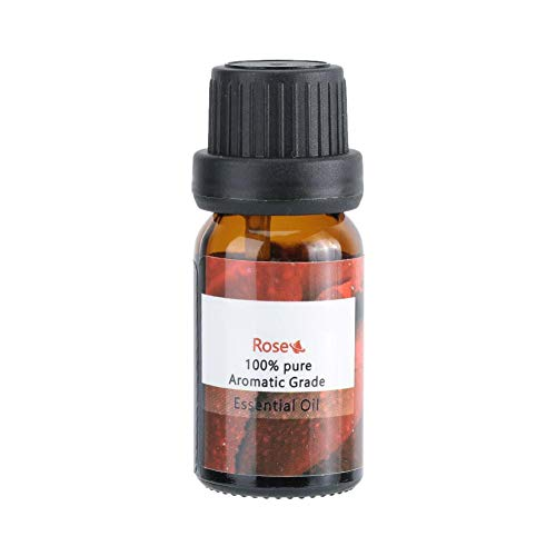 Olio essenziale di rosa da 10 ml, aromaterapia con ingredienti naturali per la cura della pelle Massaggio corpo SPA Allevia lo stress