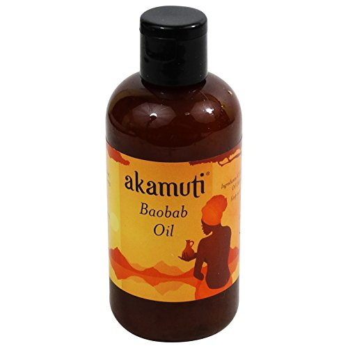 Akamuti - Olio di Baobab Spremuto a Freddo Biologico - Idratante intensivo per Pelle e Capelli - Ricco di vitamine - 100 ml