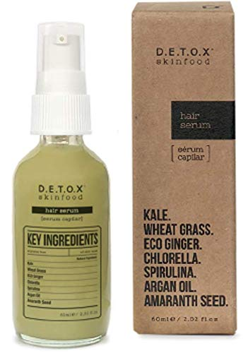 Detox Skinfood Hair serum | Ultra-Moist Hydrating Daily Formula Repair damaged hair leaving it soft and silky | Vegan cosmetics