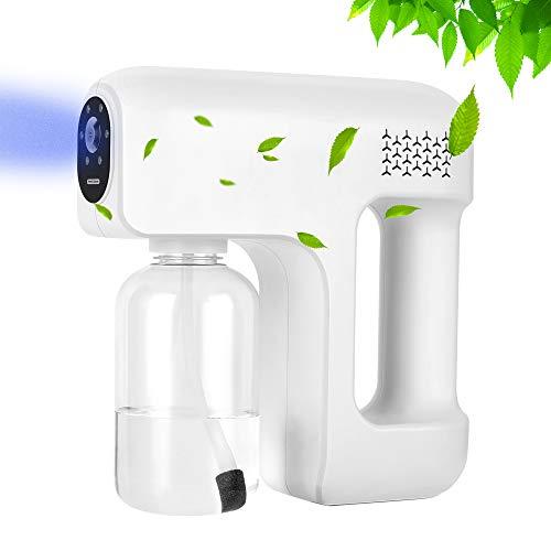 TTLIFE Nebulizzatore Elettrico Nebulizzatore Elettrico 400ml USB Charging Elettrico Disinfezione Spruzzatore per Sanificazione Ambienti per Pulizia Dell'Umidificazione Domestica Dell'Ufficio
