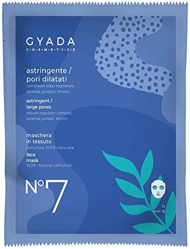 Gyada Cosmetics Gc028 Maschera in Tessuto N. 7 Astringente Ori Dilatati