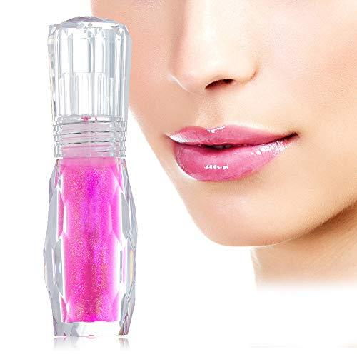 Balsamo labbra, Lip Balm, Lip Balsamo Gloss, Lipstick, Lip Rossetto Lunga Durata, Matita per la cura delle labbra, Lucidalabbra idratante e volumizzante, per labbra piene e carnose naturalmente