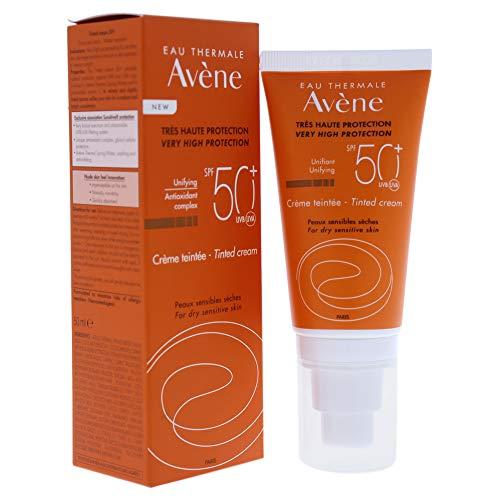 Avene 70003 Crema Solare Colorata SPF 50, 50 ml