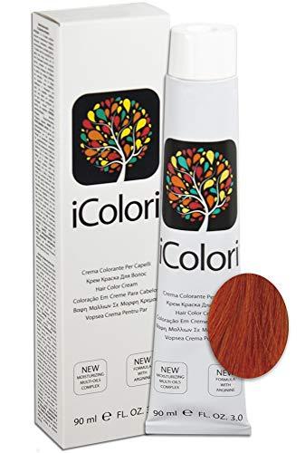 iColori - Crema Colorante Per Capelli 90 ml - No. 7.44 Biondo Rame Intenso