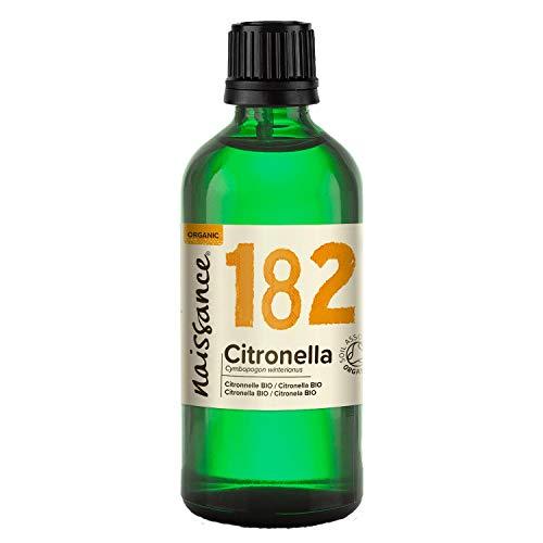 Naissance Olio Essenziale di Citronella Biologico - Olio Essenziale Puro al 100% - 100ml