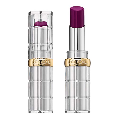 L'Oréal Paris Color Riche Shine Rossetto Idratante, Finish Lucido per Labbra, Effetto Laccato, 466 Beauty Queen