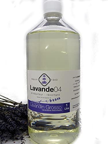 Olio essenziale di lavandino grosso, 1 litro, produttore diretto della Provenza, 100% puro e naturale