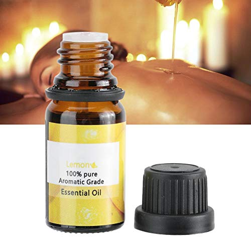 10 ml di olio essenziale di limone idratante schiarente olio per massaggi corpo per pediluvio, SPA, aromaterapia, massaggio, cura della pelle