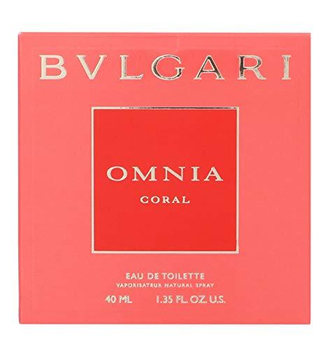 Bulgari Omnia Coral Eau de Toilette Donna, 40 ml
