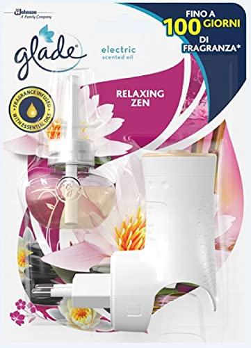 Glade Diffusore di Oli Essenziali Elettrico +Ricarica, Relaxing Zen, 20ml