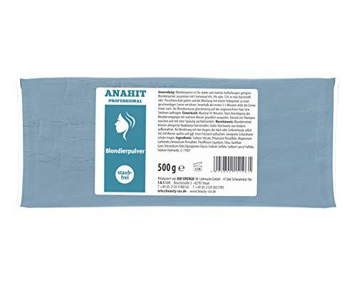 Polvere Anahit Professionale per decolorazione, ✅ Coiffeur Poudre décolorante 500 g,✅ senza polvere,✅ prodotto in Germania, ✅ con ingredienti di alta qualità,✅ in polvere di biondo di alta qualità.✅