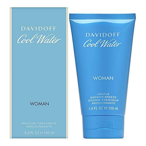 Davidoff Cool Water Woman Gel Doccia, Donna, 150 ml