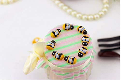 Zonster Tatuaggi 100pcs / Bag Mini Bee Fai da Te con Coccinella Adesivi Scrapbooking Easter Decoration casa della Decorazione della Parete della Festa di Compleanno