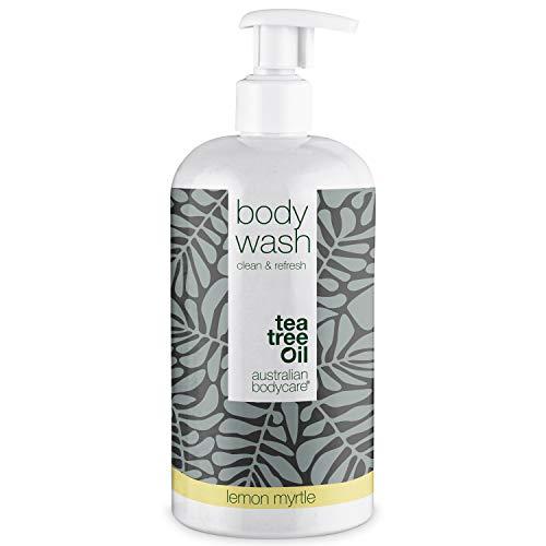 Australian Bodycare Body Wash 500ml | Tea tree oil e mirto australiano | Gel doccia uomo all'olio di melaleuca I Sapone delicato donna per pelle secca e impura, brufoli, prurito, cattivi odori, sudore