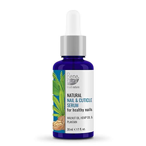 BenePura - Per unghie - Olio Estratto Naturale di erbe 30 ml - Riparazioni e Rinforzi - Estratti di Erbe Naturali - Per Unghie Sane