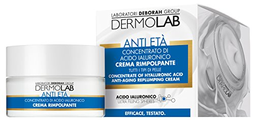 Deborah Dermolab Crema Rimpolpante Anti Età Concentrato di Acido Ialuronico ml.50