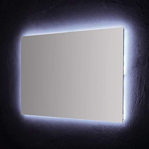 SPECCHIO BAGNO 120X70 CM CON RETROILLUMINAZIONE A LED