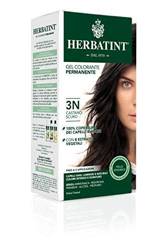 Herbatint Gel Colorante Permanente 3N Castano Scuro 150ml