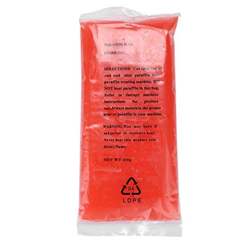 Cera per mani, cera di paraffina rosa per la cura di una cera calda idratante per piedi e mani, MSDS approvato(8509(450G))