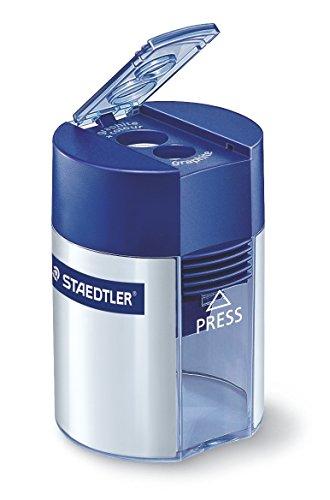 STAEDTLER, temperamatite a due fori con serbatoio 512 001