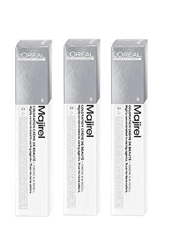 3 X L'Oreal Majirel N°6 Biondo Scuro 50 ml