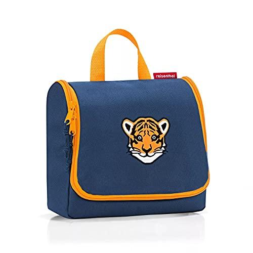 Reisenthel Toiletbag Kids - Beauty case impermeabile, taglia unica, Tiger Navy, Taglia unica, Beauty case impermeabile