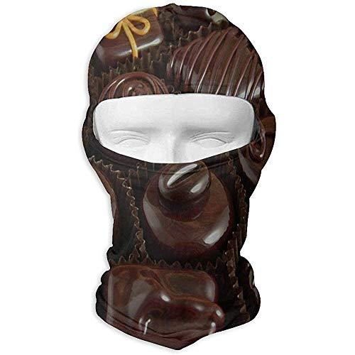 CASU balaclavas San Valentino Maschere Speciali per Il Viso al Cioccolato Passamontagna UV Cappuccio Maschera da Sci Cappuccio tattico per Scaldacollo per Moto