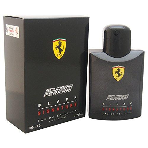 Ferrari Scuderia Black Signature Eau de Toilette -Profumo Uomo - 125 ml