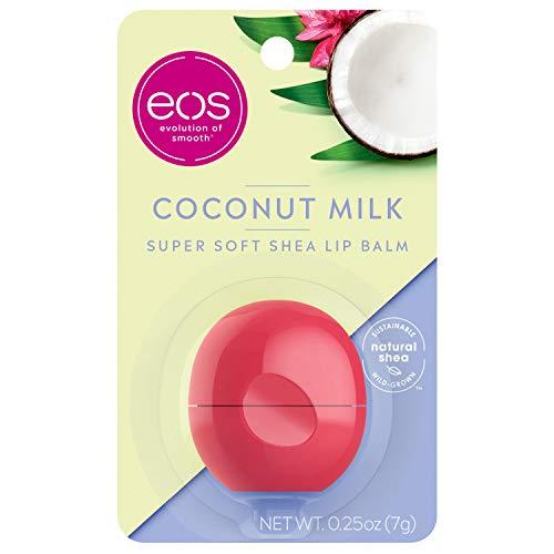 Eos Visibly Soft Lip Balm Sphere, Latte di Cocco - 7.1 ml
