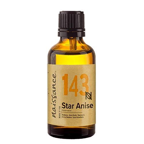 Naissance Olio di Anice Stellato – Olio essenziale puro al 100% - 50ml