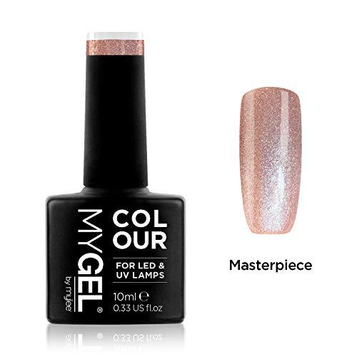 Smalto MyGel, da MYLEE (10ml) MG0105 - Masterpiece UV / LED Nail Art Manicure Pedicure per uso professionale in soggiorno ea casa - Lunga durata e facile applicazione
