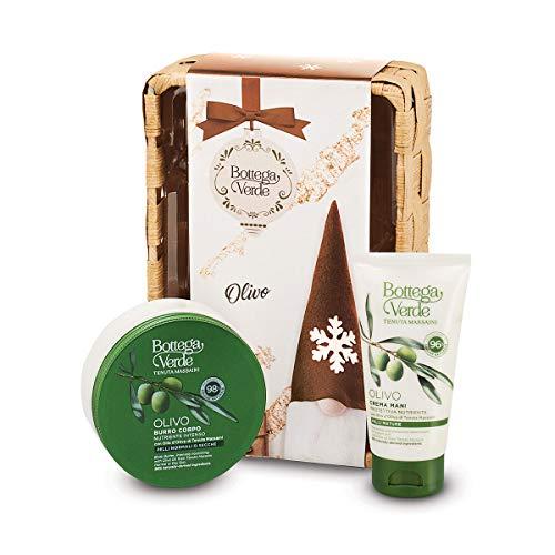 Bottega Verde, Confezione Olivo Cestino intrecciato